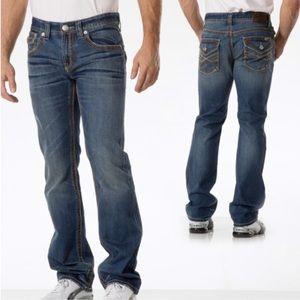 MEN'S Seven7 Straight Leg Jeans Flap Pocket 36x30